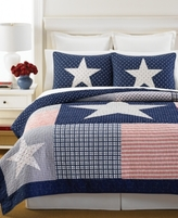 Martha Stewart Collection Martha Stewart Collection Lone Star Twin Quilt