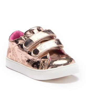 Juicy Couture Mirror Metallic Sneaker (Toddler)
