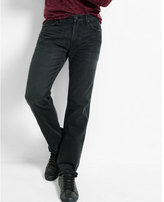 Express classic fit straight leg black jeans
