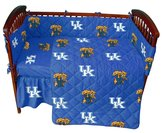 College Covers Kentucky 5 Pc Baby Crib Logo Bedding Set