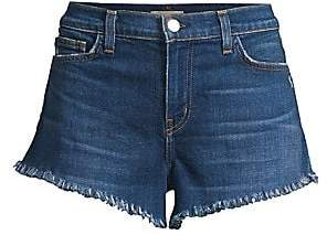 L'Agence Women's Zoe Distressed Perfect-Fit Shorts