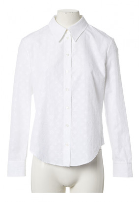 Louis Vuitton White Cotton Tops
