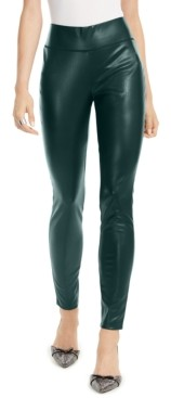 INC International Concepts Inc Petite Faux-Leather Skinny Pants, Created for Macy's