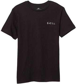 O'Neill Kids Shred Brigade T-Shirt (Big Kids) (Black) Boy's Clothing