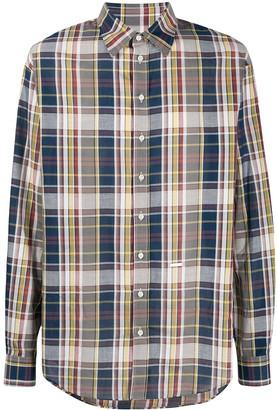 DSQUARED2 Plaid Pattern Shirt