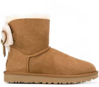 UGG bow-embellished ankle boots