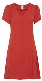 Ichi Aurora Red Beech Dress - 42 - Red