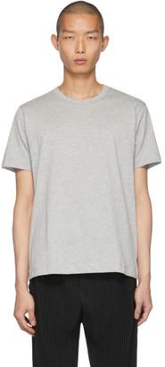 Comme des Garçons Shirt Grey Fine Jersey Plain T-Shirt