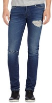 J Brand Mick Skinny Fit in Destructed Chilton