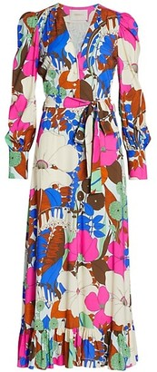 La DoubleJ Super Smokin' Hot Long Floral Dress
