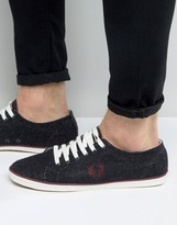 Fred Perry Kingston Tweed Sneakers