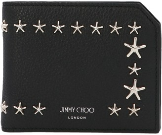 Jimmy Choo Star Embellished Bifold Wallet