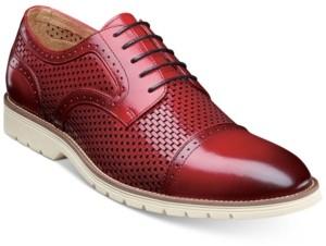 Stacy Adams Men's Ellery Textural Brogue Oxfords Men's Shoes