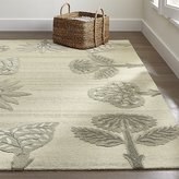Crate & Barrel Fiore Wool-Blend Rug
