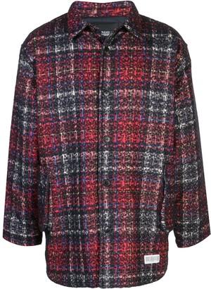Mostly Heard Rarely Seen plaid shirt jacket