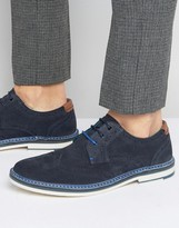 Ted Baker Reith Suede Derby Brogues