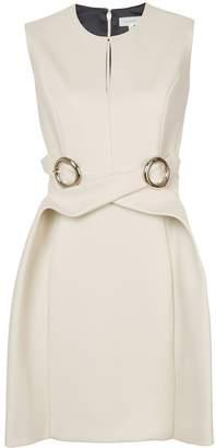 DELPOZO crossover o-ring dress