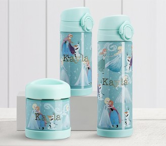 Pottery Barn Kids Mackenzie Aqua Disney Frozen Hot & Cold Container