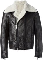 DSQUARED2 shearling biker jacket