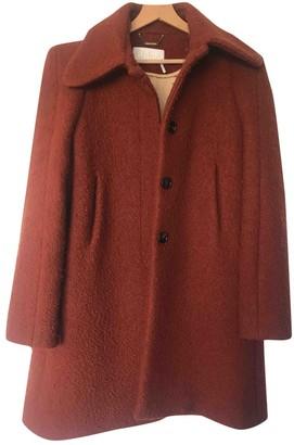Chloé Orange Wool Coat for Women