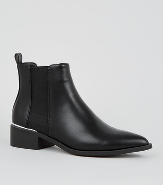New Look Pointed Chelsea Boots