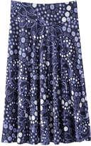 Joe Fresh Women's Midi Skirt, Dark Blue (Size XS)