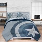 Marvel® Captain America Lifestyle Shield Twin/Twin XL Comforter