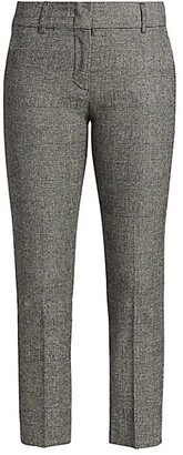 Piazza Sempione Kim Cropped Ankle Pants