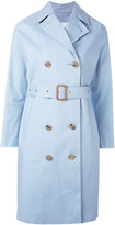 MACKINTOSH belted trench coat - women - Cotton - 32