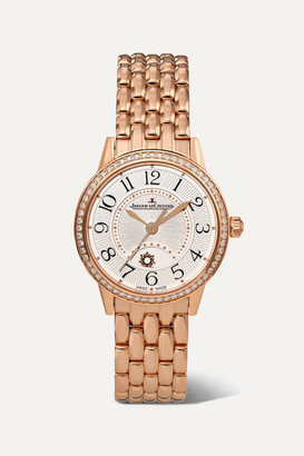 Jaeger-LeCoultre Jaeger Lecoultre Rendez-vous Night & Day 29mm Small Rose Gold And Diamond Watch