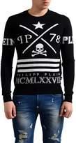 Philipp Plein Homme Limited Edition Wool Men's Crewneck Sweater