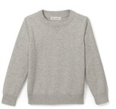 La Redoute Collections Plain Organic Cotton Crew Neck Jumper 3-12 Years
