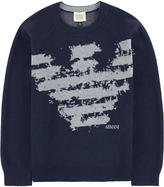 Armani Junior Jacquard knit sweater