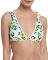 Nanette Lepore Limoncello Vixen Triangle Swim Top