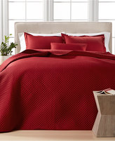 Charter Club Damask Quilted Full/Queen 3-Pc. Coverlet Set