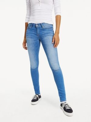 Tommy Hilfiger Faded Mid Rise Stretch Jeans
