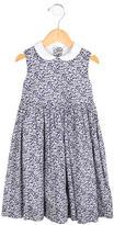 Oscar de la Renta Girls' Printed Sleeveless Dress
