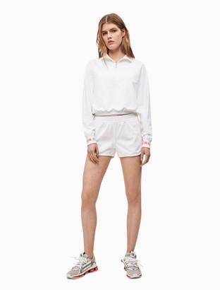 """Calvin Klein Logo Tape 4"""" Runner Shorts"""