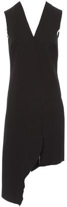 Dagmar Black Cotton - elasthane Dress for Women