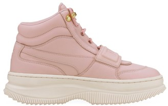 Puma Women's Deva High-Top Leather Sneakers