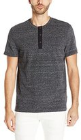 Kenneth Cole New York Men's Geo Printed Henley Shirt