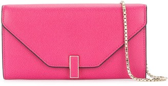 Valextra Iside Continental chained wallet