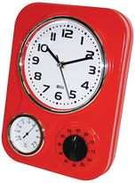 IS Time Kitchen Retro Wall Clock, 33x24cm