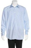 Hermes Striped Woven Shirt