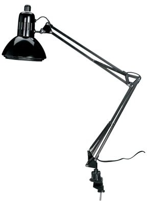 "Alvin and Co. Swing Arm 32"" Desk Lamp Color: Black"