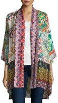 Johnny Was Dream Kimono-Style Printed Jacket
