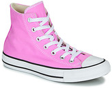 Converse Chuck Taylor All Star Seasonal Color women's Shoes (High-top Trainers) in Pink