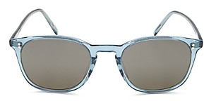 Oliver Peoples Unisex Finley Vintage Round Sunglasses, 49mm