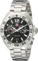 Tag Heuer Men's WAZ111A.BA0875 Formula 1 Analog Display Swiss Quartz Watch