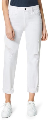 Joe's Jeans The Scout Distressed Ankle Straight Leg Jeans